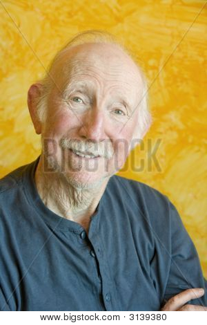 Portait Of An Elderly Man