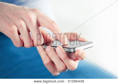 Man With Smart Phone