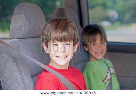 Boys In Car