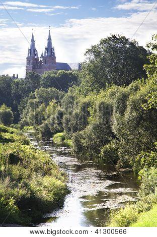 Rezekne Heart Of Jesus Cathedral, Latvia.