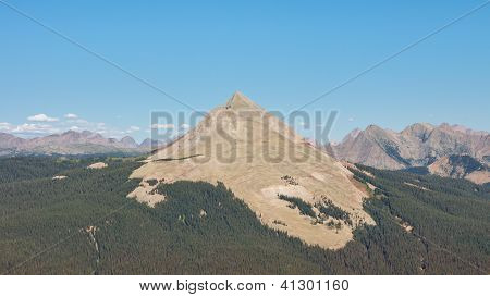 Engineer Mountain In The San Juan Mountains