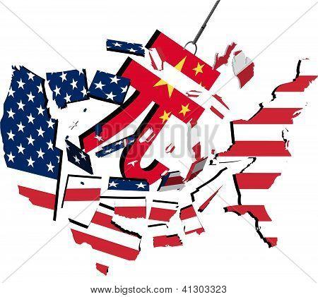 Yuan wrecking USA
