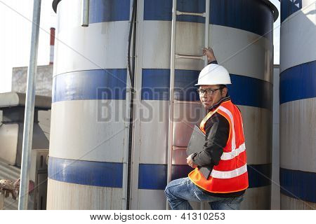 Engineer And Storage Tank