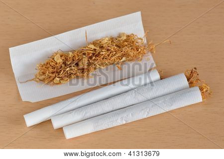 Hand Rolled Cigarette