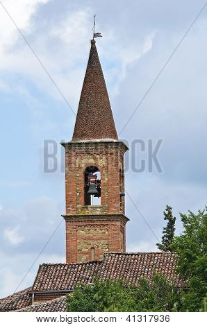 Church of St. Antonio Abate. Statto. Emilia-Romagna. Italy.