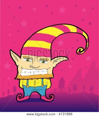 Mischievous Christmas Elf