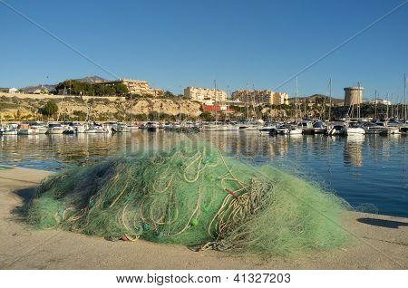 Puerto pesquero de Campello