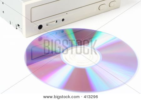 Cd Drive And Disc