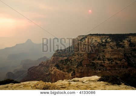 Grand Canyon Forest Fire