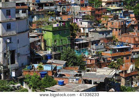 Favela Rocinha, Rio De Janeiro