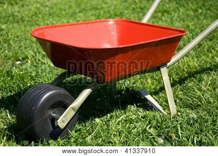 Red Handbarrow