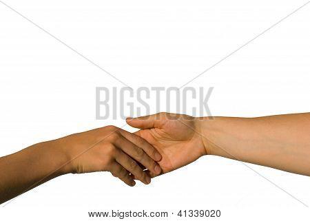 A Gently Handshake
