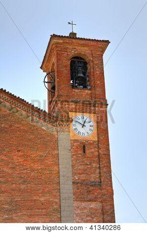 Basilica Church of St. Martino. Rivalta. Emilia-Romagna. Italy.