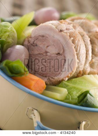 Pot Au Feu Belly Pork Sliced