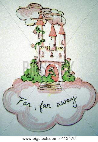 Castle In The Clouds Illustrations