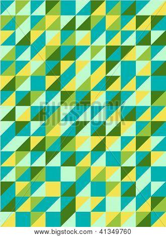 Retro Triangel-Muster
