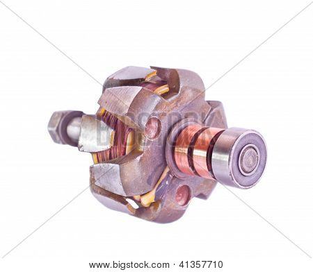 Anker van elektrische Generator van een gelijkstroom 14V