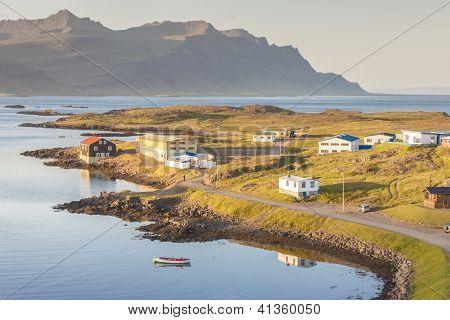 Fishing Village Djupivogur - Iceland.