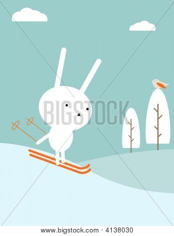 Coelhinho esqui