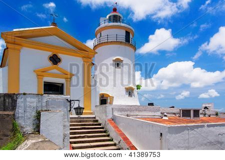 Guia Lighthouse, Fortress and Chapel, Macau.