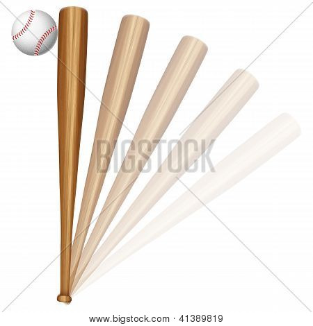 Baseball Ball And Bat
