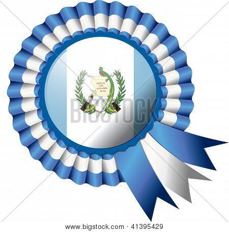 Bandeira de Rosette de Guatemala