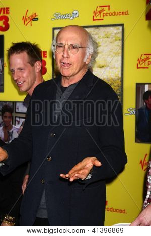 LOS ANGELES - JAN 23:  Larry David arrives at the