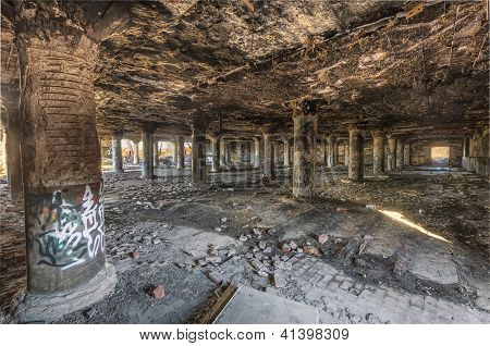 Abandoned Meat Packing Plant