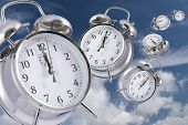 image of time flies  - Time flying concept  - JPG
