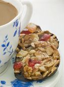 Petit Florentines With A Cup Of Tea poster