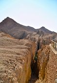 image of tozeur  - Spectacular Canyon of Chekiba  - JPG
