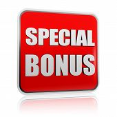 stock photo of money prize  - special bonus  - JPG