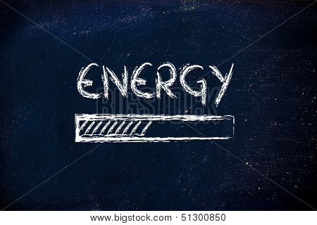 Energy Prograss Bar Loading