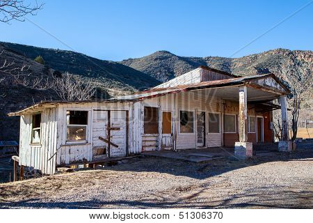Derelict Building In Arizona