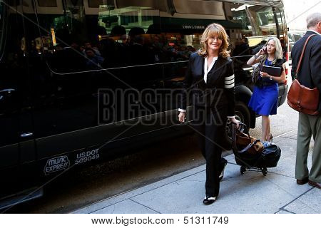 NEW YORK-SEP 23: Actress Deidre Hall attends the 'Days of our Lives: Better Living' book tour on September 23, 2013 in New York City.