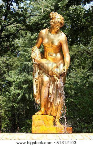 The Fountain-sculpture Danaides