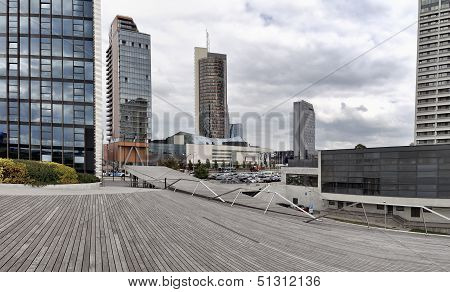 Vilnius Of Business District Panorama