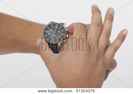 Adjusting a  Watch