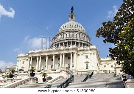 Capitol Building, Washington Dc, America