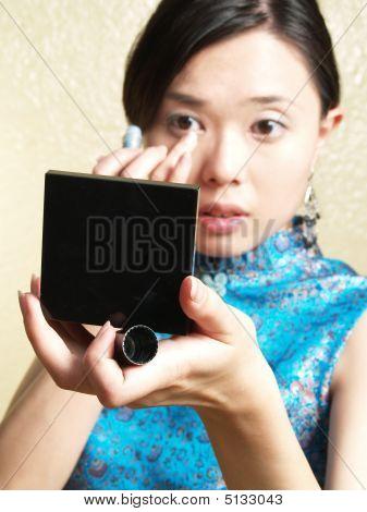 Asian girl make up