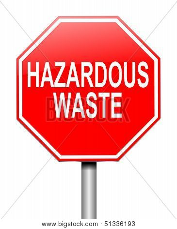 Hazardous Waste Concept.