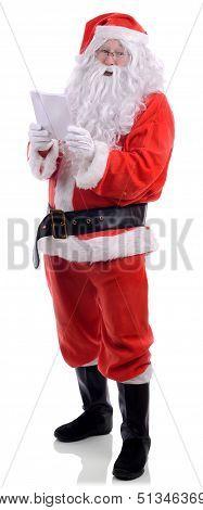 Santa Claus Christmas List