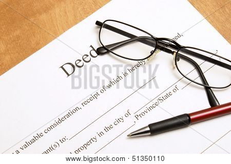 Deed Papers