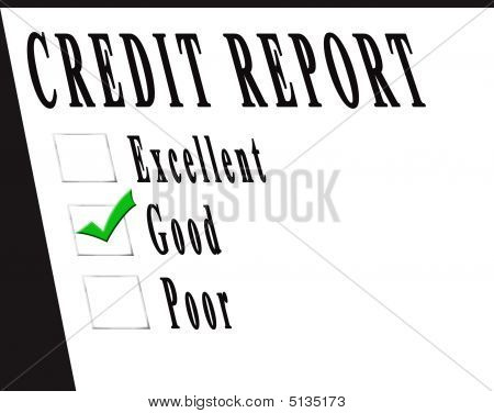 Credit Report Good
