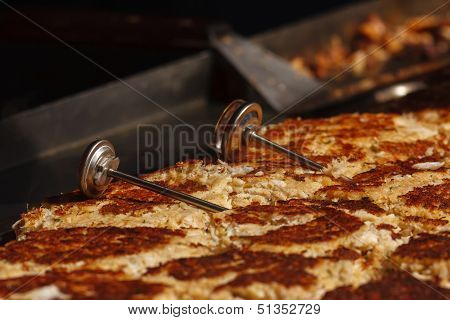 Crabcakes On Grill