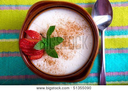 Sutlac Turkish Style Rice Pudding