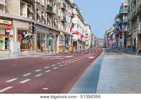 Rue Du General Leclerc In  Rouen