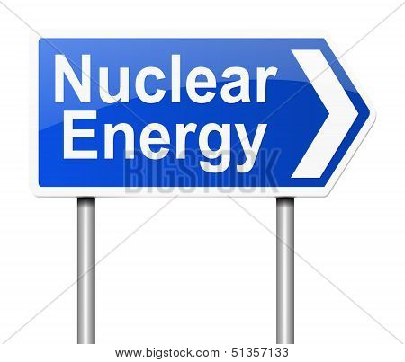 Nuclear Energy Concept.