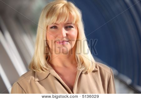 Pretty Middleaged Blonde