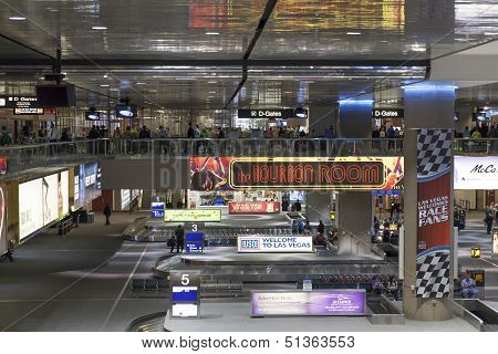 Mccarren International Airport In Las Vegas, Nv On March 06, 2013